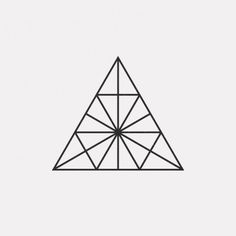 DAILYMINIMAL: #FE16-495 A new geometric design every day