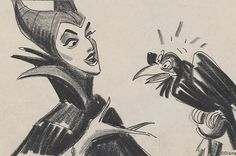 Maleficent character design