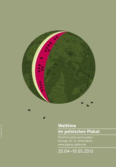 World Cinema in Polish Posters by Homework #design #graphic #poster