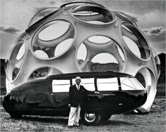 Deus Ex Machina: Bucky's Car #white #whi #black #cars #and #buckminster #fuller