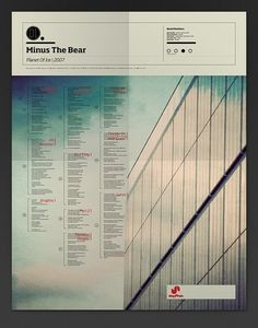 The Visual Mixtape on the Behance Network #map #the #minus #poster #bear