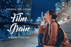Film Grain Video Overlays