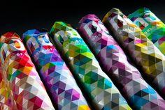 NOVUM 11/11 - Making of cover on the Behance Network #cover #colors #design #novum