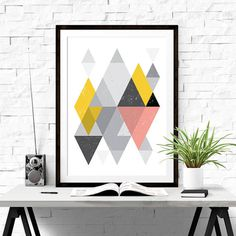 Geometric Art #iloveprintable