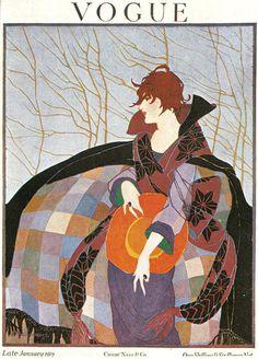 -9 #vogue #illustration #vintage #covers