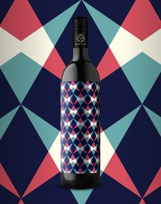 10_17_13_MotifWine_6.jpg #bottle #packaging #design #color #wine #geometric