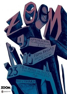 anoik - typo/graphic posters #anoik #poster #zoom #drawing #typography