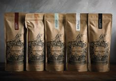 Best Awards Font Studio. / Hawthorne Coffee Packaging #font #packaging #studio #hawthorne #coffee