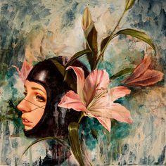Studio Visit with Soey Milk | Hi Fructose Magazine #flower #woman