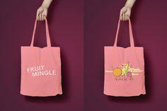 Fruit Mingle Strawberry Totebag