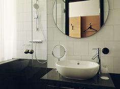 Miss Clara a new design hotel in Stockholm emmas designblogg #interior #sink #shower #design #decor #stockholm #deco #hotel #decoration