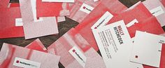Red Square Stationery - FPO: For Print Only #namecard #stationery