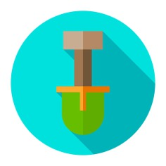 See more icon inspiration related to construction and tools, Tools and utensils, home repair, gardening, improvement, construction, shovel and nature on Flaticon.