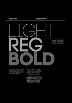 Code Pro 01 #design #poster #typography