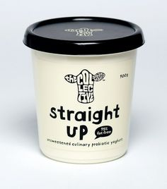The Collective: Gourmet Probiotic Yoghurt - TheDieline.com - Package Design Blog #packaging #food #drawn #cute #type #hand