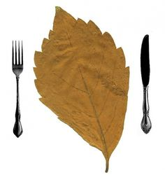 All sizes | comedor | Flickr - Photo Sharing! #nadal #leaf #ines #sanchez #illustration #knife #fork