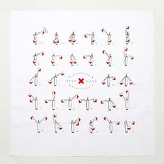 Best Made Company — Semaphore Bandana #made #semaphore #best