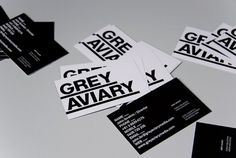 Grey Aviary | COÖP #cards #business