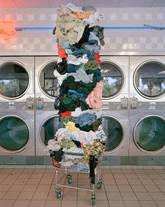 David-Welch-04---Laundry-Totem #objects #photography #composition