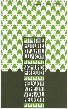 The Book Cover Archive: The Future of an Illusion, design by David Pearson #cover #penguin #book #typography