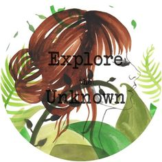 "flora fricker art (""explore the unknown"" in watercolour by Flora...) #flora #fricker #typograghy #explre #painting #art #logo #watercolour"
