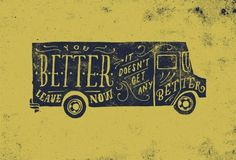 BLOG, THE #truck #contino #drawn #sketch #typography