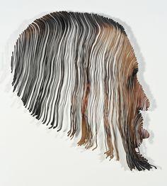 Image result for laser cut portraits