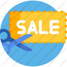 See more icon inspiration related to sale, sale label, sale tag, commerce and shopping, shopping store, label, supermarket, store, percentage, sales, price, tag, shop, shopping and scissors on Flaticon.
