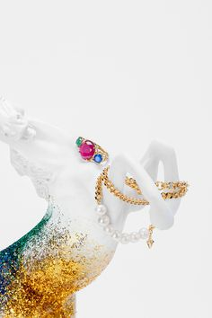 TOUS LOOKBOOK F/W 2014 on Behance #fantasy #spain #unicorn #tous #jewels #colors #jewelry #cocolia