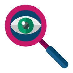 See more icon inspiration related to search, zoom, magnifying glass, ui, loupe, detective, miscellaneous and Tools and utensils on Flaticon.