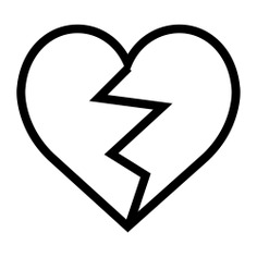 See more icon inspiration related to heart, dislike, shapes and interface on Flaticon.