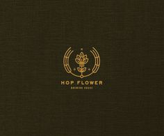 Hops, Flower, logo, design, hop flower, brewing, beer