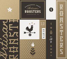 Normandy farm roasters brand board j fletcher