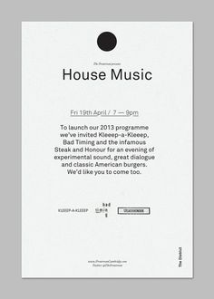 Launch invite #poster #typography