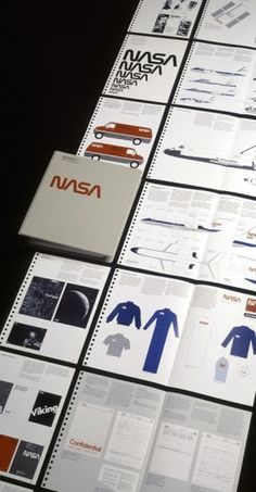 NASA Graphic Standards Manual — 1976 | Media Collective #nasa #logo #design #manual