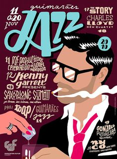 2010jazzposters_02 #jazz #design #graphic #illustration #poster #typography