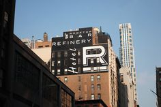 38th and 6th Ave. - Street Typography #type #nyc #street
