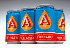 austin, beer, works, fire, eagle, cans
