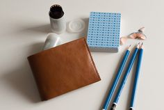 Convoy Goods Bi-fold Tan #tech #flow #gadget #gift #ideas #cool