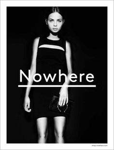 FFFFOUND! #fashion #nowhere #poster