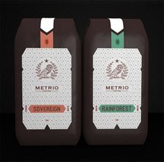 30 Creative Package Design Examples #owl #packaging #design #elegant #metro #coffee