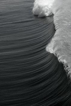 Wave #wave #photo #black and white