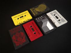 3 new cassette releases of Derek Rogers, Maar and G.S. Sultan #packaging