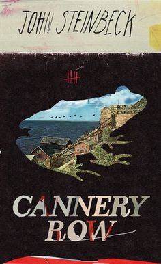 Cannery Row by kathryn macnaughton | Society6 #macnaughton #design #book #cover #kathryn #art #collage #typography
