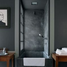 tumblr_lpuz917pxu1qei7a7o1_500.jpg (500×500) #interior #shower #home #architecture #grey