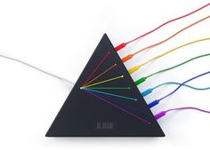 Spectrus USB hub #lebedev #usb #hub #design #cables #product #triangle #studio #art