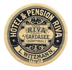 Vintage Badge #label