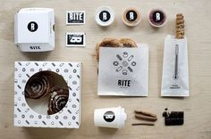 Bite is a bakery and café selling pretzels, rolls and other pastries, located in the heart of Budapest that has outstanding branding. #Buda
