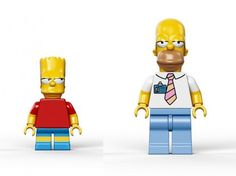 Lego Simpsons Set2 #simpsons #toys #simposons #lego