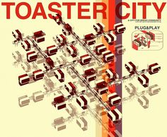 TOASTER CITY by onat öktem on the Behance Network